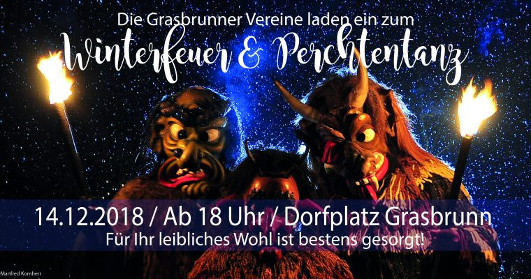 Winterfeuer & Perchtentanz 2018